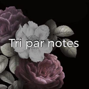 Tri par notes